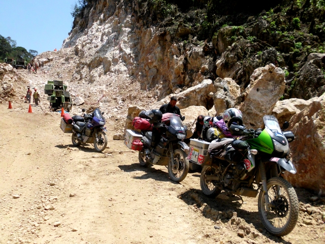 Dirtiest Spot: Gravelroad in Guatemala